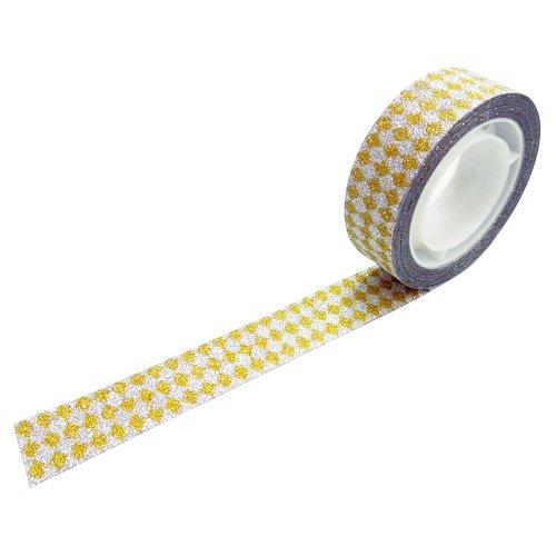グリッターテープ ダイヤモンドゴールド