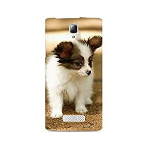 Mobicture Puppy Cute Premium Printed Case For Lenovo A2010
