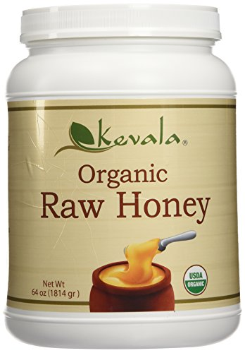 Kevala Organic SPREADABLE Raw Honey 4 Lbs