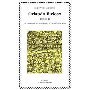 Orlando furioso, tomo II (Spanish Edition) Ludovico Ariosto
