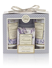 Floral Collection Lavender Hand Treats Mini Gift Set