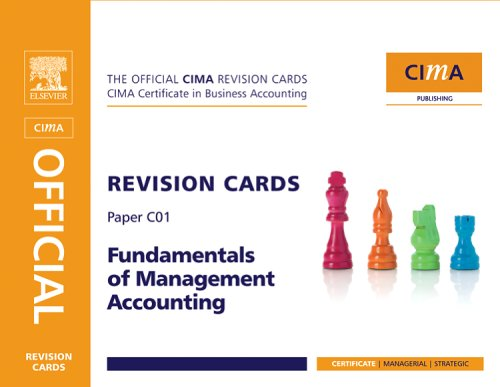 Fundamentals of Management Accounting (CIMA Revision Cards)