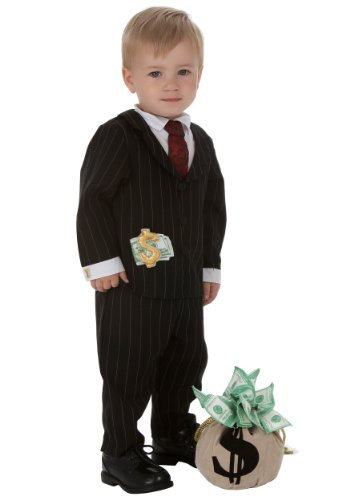 Little Boys' Toddler Gangster Costume