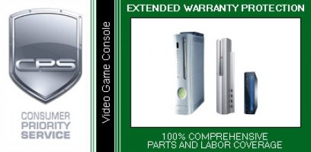 2 Year CPS Consumer Priority Service Extended Warranty for Video Game Consoles Under $1,000.00