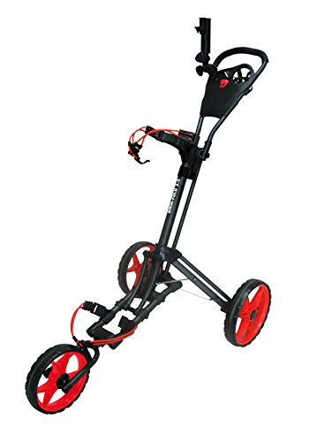 Founders-Club-2016-Qwik-Fold-35-3-Wheel-Golf-Push-Pull-Cart-Trolley
