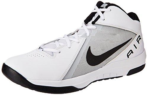 Nike Uomo The Air Overplay Ix scarpe da basket, Bianco (Blanco (White / Black-Pure Platinum)), 43 EU