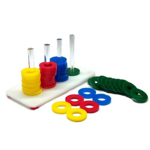 Image of Zoo-Max Rings Game Bird Toy (B009AWE8MA)