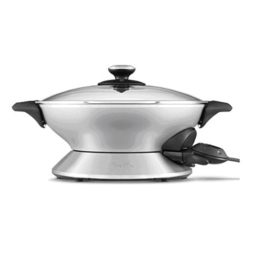Breville RMBEW600XL the Hot Wok, Silver, Certified Refurbished (Wok Breville compare prices)
