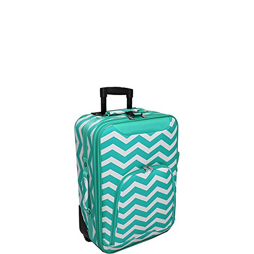 World Traveler 20 Inch Rolling Carry-On Luggage