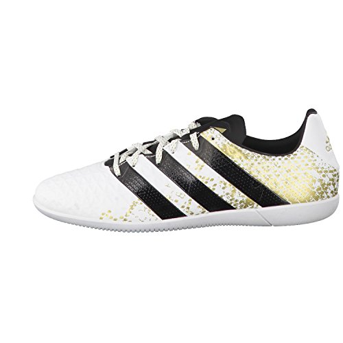 adidas Herren Ace 16.3 in Fußballschuhe, Blanco (Ftwbla / Negbas / Dormet), 48 EU -