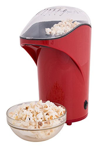 Ozeri OZP1 Movie Time 26 Cup Healthy Popcorn Maker, Red (Hot Butter Popcorn Machine compare prices)