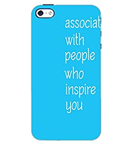 APPLE IPHONE 4S TEXT Back Cover by PRINTSWAG