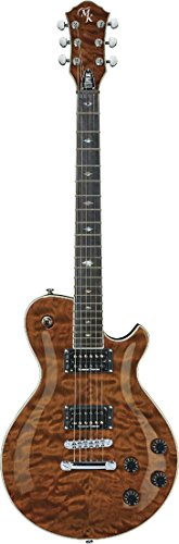 Michael Kelly MKPSUTGE Patriot Supreme Solid-Body Electric Guitar, Tigers Eye
