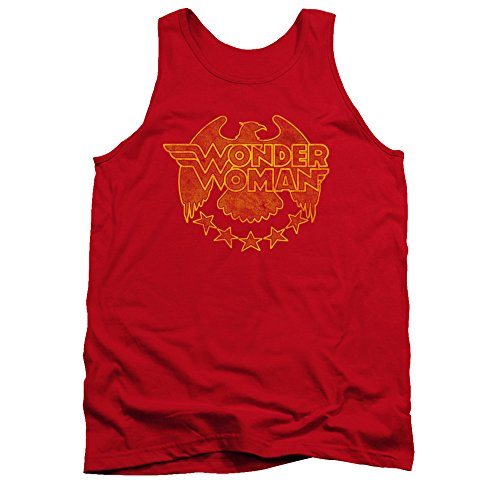 Wonder Woman DC Comics Superhero Wonder Eagle Adult Tank Top Shirt