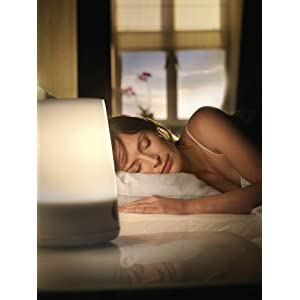 Philips Hf3470/60 Wake-up Light,  White