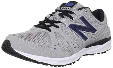 New Balance Men's M690 Running Shoe,Silver/Blue,15 2E US