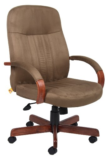 boss-office-products-b8386-dkc-microfuber-executive-chair-with-dark-oak-finish-in-cappuccino