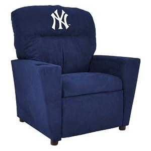 MLB New York Yankees Kid's Microfiber Recliner