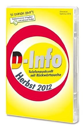 D-Info inkl. Rückwärtssuche Herbst 2012