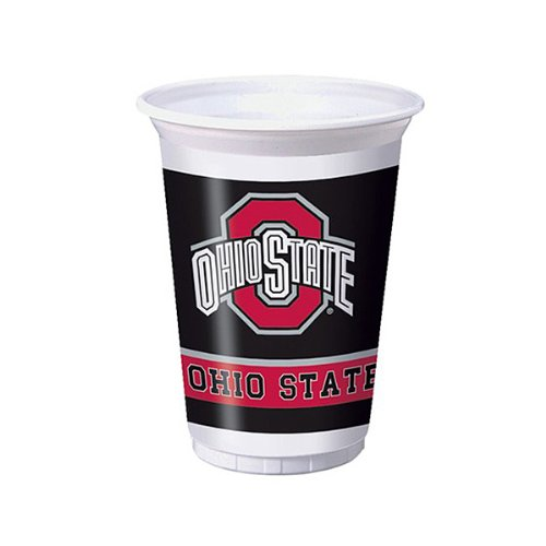 Creative Converting 014843 20 oz Printed Plastic Cups The Oh