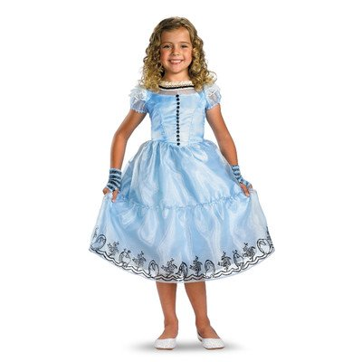 Disney Alice in Wonderland Deluxe Kids Costume