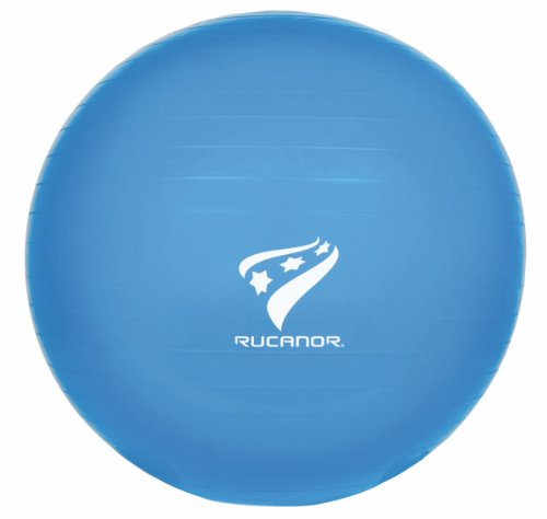 Rucanor Gym Ball - Pelota de fitness, tamaño 55 UK, color azul claro