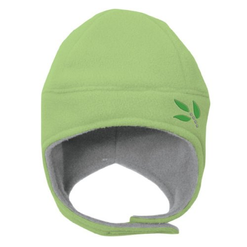 iPlay Origins Ecofleece Earwarmer Hat, Sage, Infant