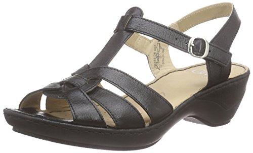 Caprice28355 - Sandali Donna , Nero (Nero (BLACK 1)), 38