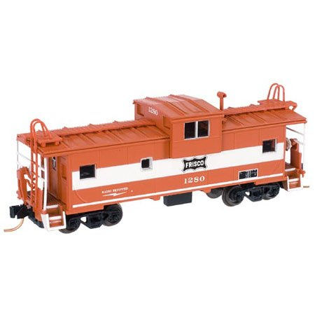 N RTR Wide Vision Caboose/MT, Frisco #1280 - Buy N RTR Wide Vision Caboose/MT, Frisco #1280 - Purchase N RTR Wide Vision Caboose/MT, Frisco #1280 (Atlas Model Railroad, Toys & Games,Categories,Play Vehicles,Trains & Railway Sets)