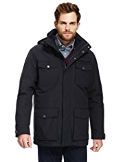 Blue Harbour Water Resistant Coat with Removable Inner Jacket