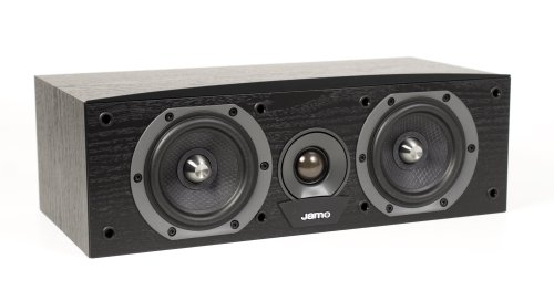 Jamo C60 Cen Center Channel Speaker (Single, Black)