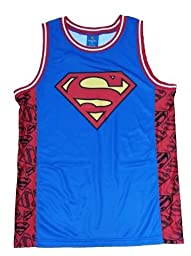DC Comics Superman Logo Licensed Graphic Jersey Tank Top - X-Large