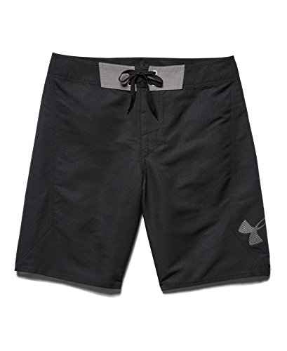 Under armour men 39 s ua mania boardshorts 34 black apparel for Under armour swim shirt