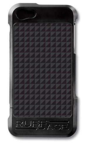 Great Sale RuffCase CC-IP5-BLK-CF Combi Case for iPhone 5 - Retail Packaging - Carbon Fiber