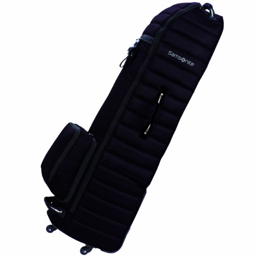 Samsonite  Spinner Wheeling Golf Travel Cover, Black