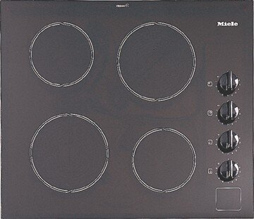 Miele KM421 24 SelfContained Ceran Glass Electric Cooktop (240volts) call for 208volt option