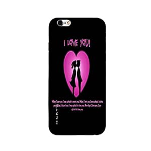 RICKYY _ip6_1209 Printed matte designer I love You case for Apple iPhone 6