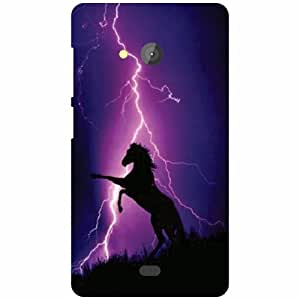 Microsoft Lumia 540 Dual SIM Back Cover ( Designer Printed Hard Case)