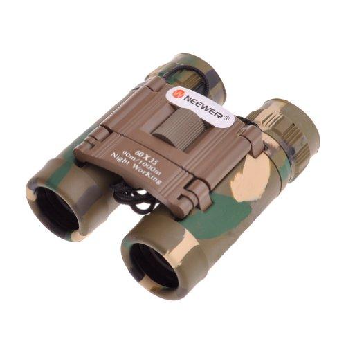 Neewer® 8X Magnification Night Working Foldable Binocular