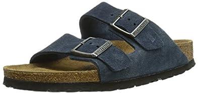 Birkenstock Arizona, Unisex-Adults' Sandals, Blue, 3.5 UK