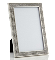 "Diamanté Photo Frame 10 x 15cm (4 x 6"")"