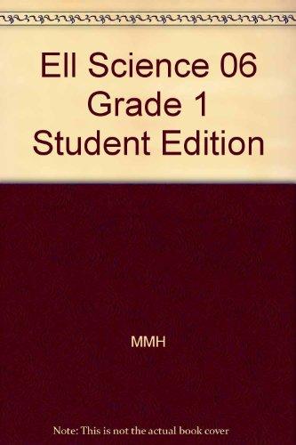 Ell Science 06 Grade 1 Student Edition