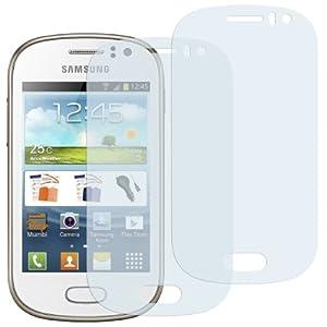 2x mumbi Displayschutzfolie Samsung Galaxy Fame Schutzfolie (NICHT für Fame Lite)