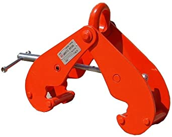 "Elephant Lifting EBC-10 Eye Beam Clamp, 10 ton Capacity, 3-1/2"" - 11-51/64"" Flange Width"