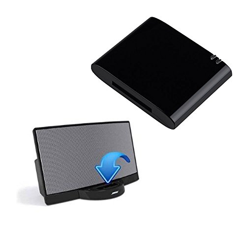 For iPhone Apple Speaker 30 Pin Wireless Bluetooth Music Receiver  Audio Adapter