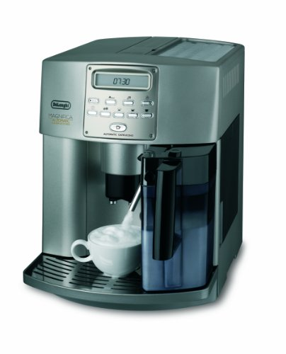 ESAM 3500 S Kaffeevollautomat Automatic Cappuccino (1350 W, 1.8 l, 16 bar, Milchsystem) Champagner-Silber