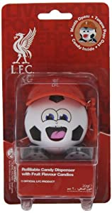 Sports Candy Liverpool Fc Radz Candy Dispenser 20 g (Pack of 3)