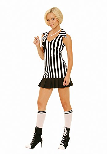Sexy Women's Sports Racy Referee Adult Roleplay Costume