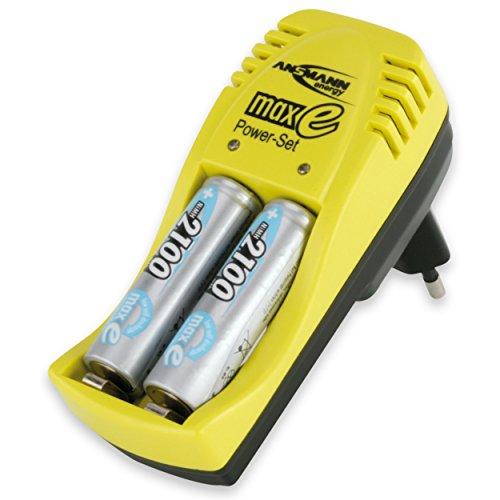 Ansmann Maxe Power Set Chargeur de batterie
