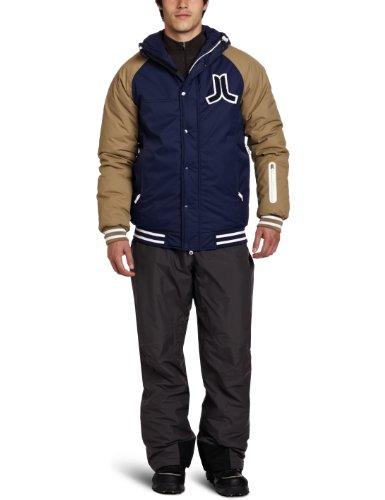 WeSC Men's Plus Jakobi Hooded Jacket, Medium Blue, XX-Large